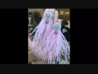 серьги Бурлеск розовые с лунным камнем в серебре