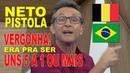 NETO NERVOSO: ERA PRO BRASIL PERDER DE UNS 5 DA BÉLGICA !