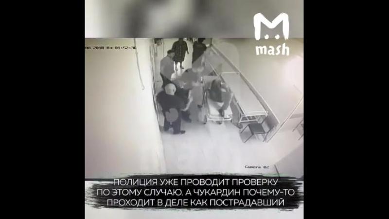 Немного 90-х из Ельца. Там местный авторитет в больнице добивает раненного ножом парня. При этом сам авторитет у полиции числитс