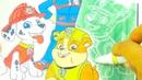 Щенячий Патруль раскраска для детей Игрушкин ТВ