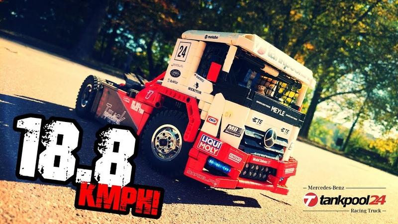 Lego Technic RC Mercedes Benz Tankpool Racing Truck