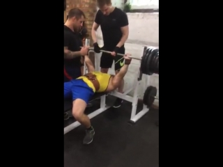 Barbell Bench Press 205 kg, Shevchenko