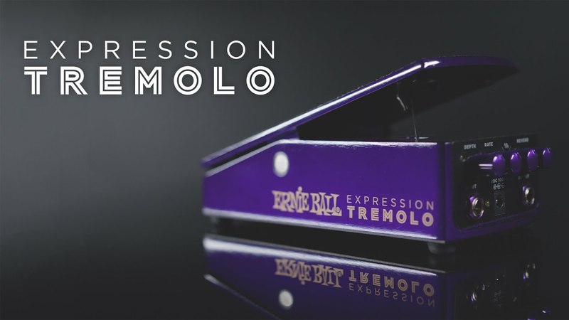 Ernie Ball: Expression Tremolo Pedal