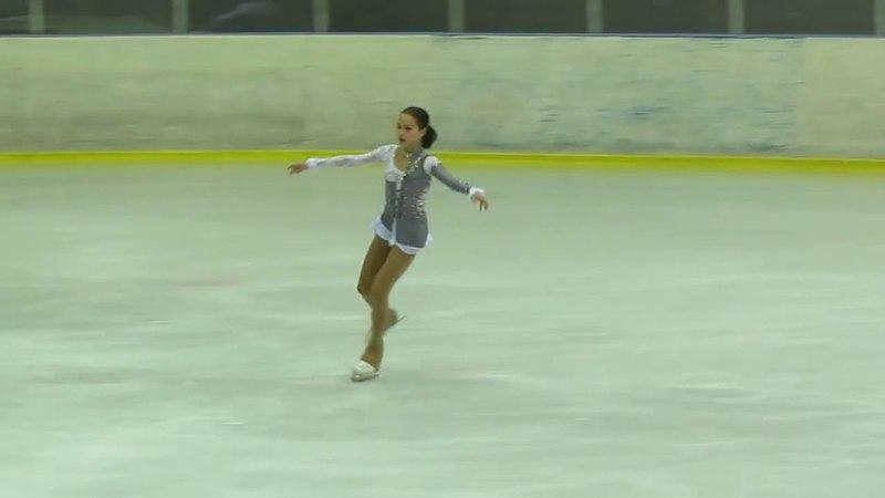Alina Zagitova I этап Кубка России 2015 ПП 10 103.57