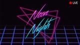 RetrowaveSynthwaveDarkwave Neon Nights Midnight Radio