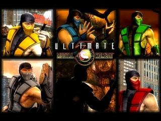 Mortal Kombat 9 (PC) - Ultimate MK3 Ninja's skins mod - gameplay + Download