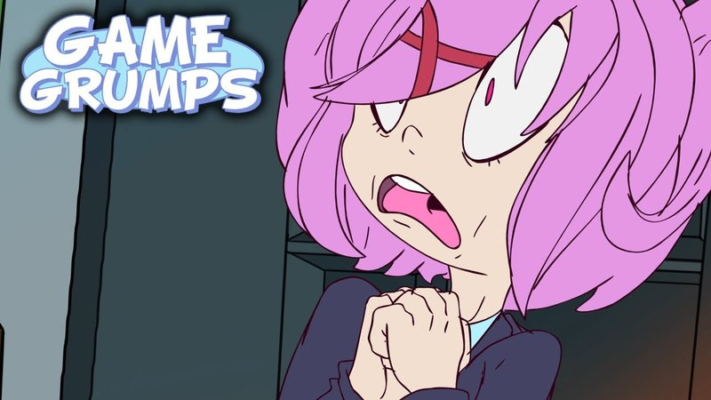 Game Grumps Animated - A Normal Day At Literature Club - by Ryan Storm