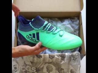 Распаковка новых Adidas X17.1 LEATHER 'Deadly Strike' 🦎