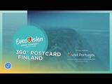 360 Albufeira Saara Aaltos Postcard Eurovision 2018
