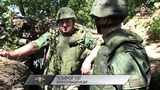 Бойцы НМ ДНР сдерживают ДРГ ВСУ из разрешенного вооружения