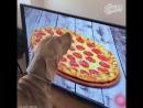 телик 4К и пица