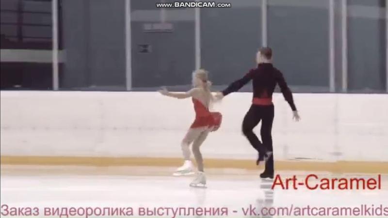 Анна Щеглова - Илья Калашников КП 1 этап Кубка Санкт-Петербурга 2018