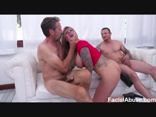 [FaceFucking/FacialAbuse] Karma RX (Big Bouncing Balloons) [Big Ass, Big Tits, Slapping, Gagging, Spitting, Puking, Deepthroat]
