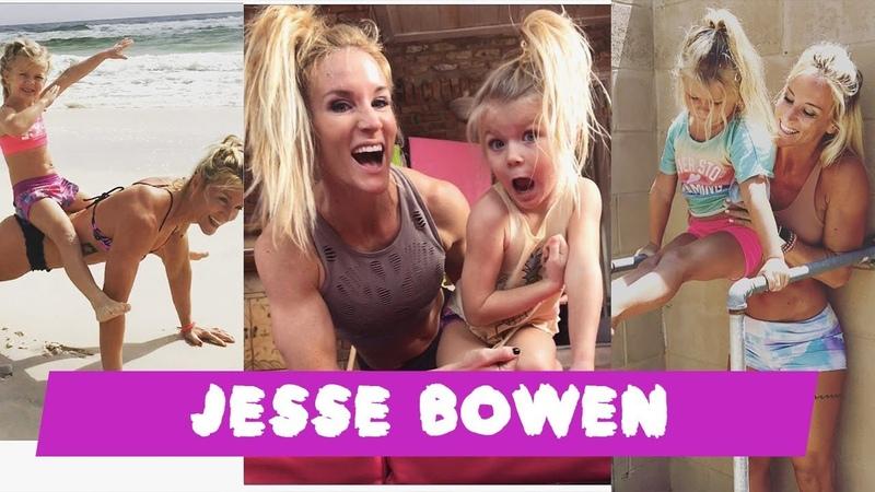 JESSE BOWEN Workout Crossfit Mom Daughter Motivation 2018