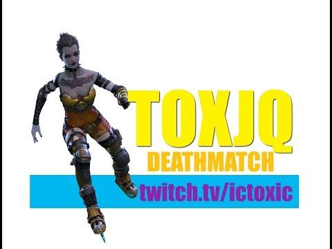 Toxjq as Slash in Deathmatch Quake Champions