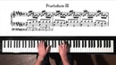 Bach Prelude and Fugue No 3 Well Tempered Clavier Book 2 with Harmonic Pedal