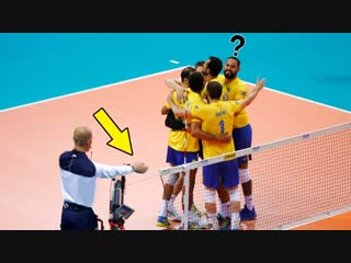 Never celebrate too early - volleyball (hd)