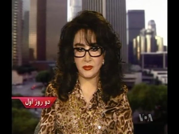 Homeyra in VOA farsi _ مصاحبه حمیرا در صدای آمریکا