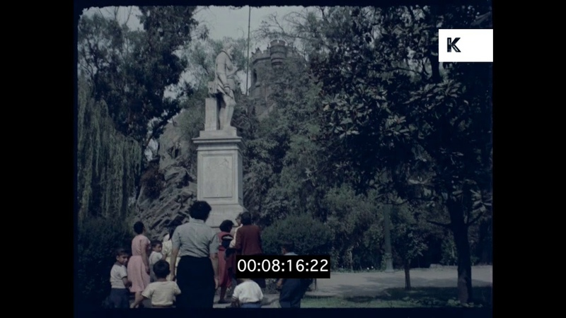 1960s Santiago, Chile in HD from 35mm
