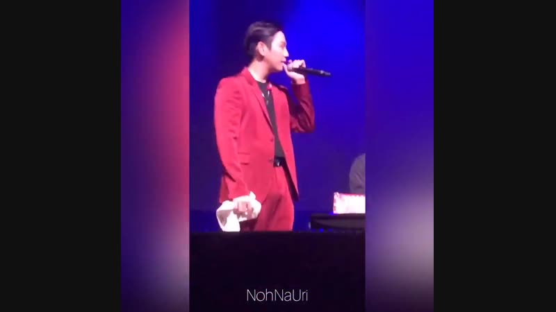 10.11.18 Himchan QA @ 2018 B.A.P. North America Tour FOREVER - Индио