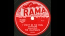 Heartbeats - I Won't Be The Fool Anymore - Gorgeous Doo Wop Ballad From NM 78
