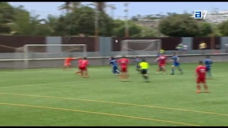 UD Сан Фернандо - Клуб Марино Луанко, 3-1, Терсера 2017-2018, 1/4 нечемпионского плей-офф, 1 матч
