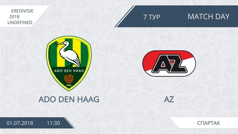 AFL18. Netherlands. Eredivisie. Day 7. Ado Den Haag - AZ