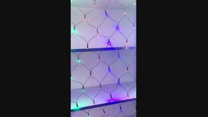 Гирлянда-сетка Multi function RGB