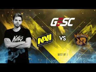 NAVI vs RRQ @GESC E-Series: Jakarta