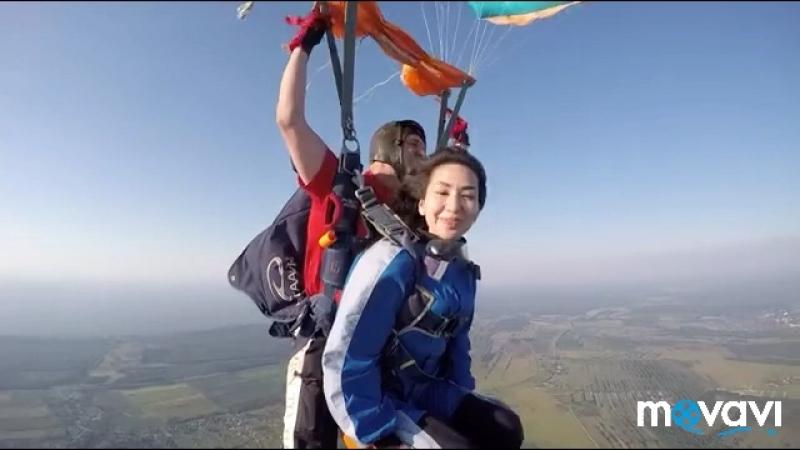 Прыжок с высоты 4000 м ✈️💭