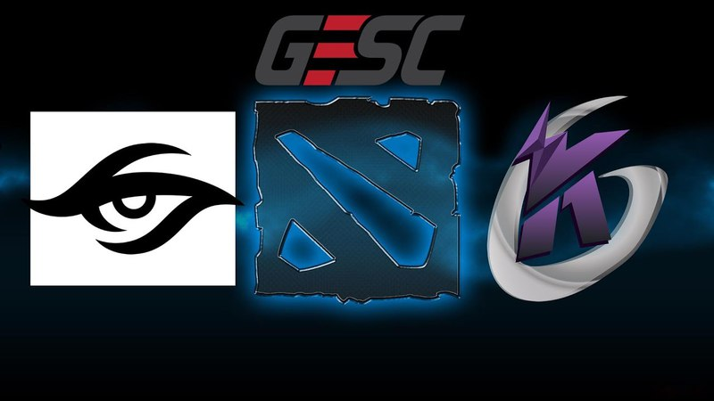 Team Secret vs Keen Gaming GESC Thailand BO1 Dota 2 Minor Tournament