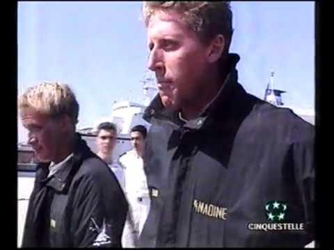 Реальные кадры после крушения Яхты Nadine, Джордана Белфорта 1996 год