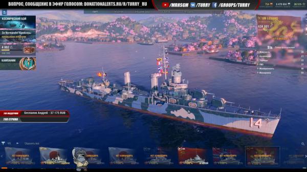 World of Warships - ТОП кораблей для ранговых боев
