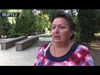 Жители Донецка о гибели Александра Захарченко