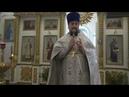 18 01 2019г проповедь иерея Дмитрия Боголюбова Крещенский Сочельник