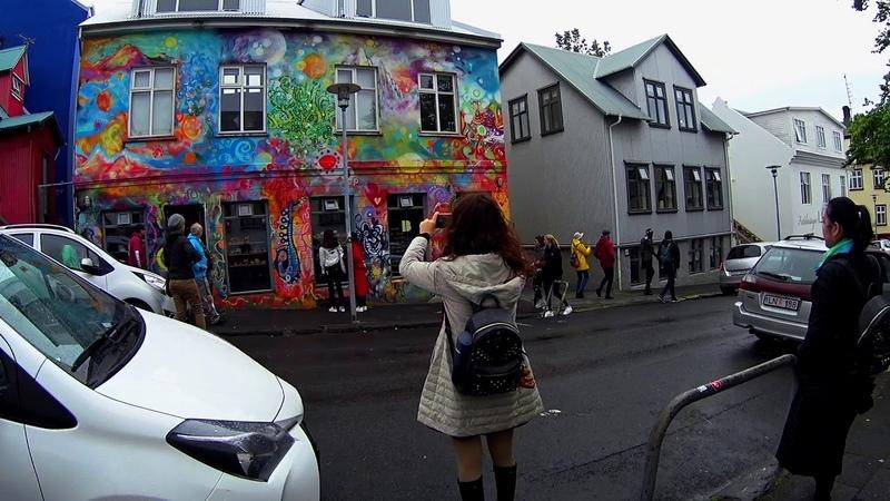 Iceland hitchhiking June 2018