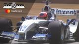 Juan-Pablo Montoya's mighty V10 Williams F1 screams at FOS