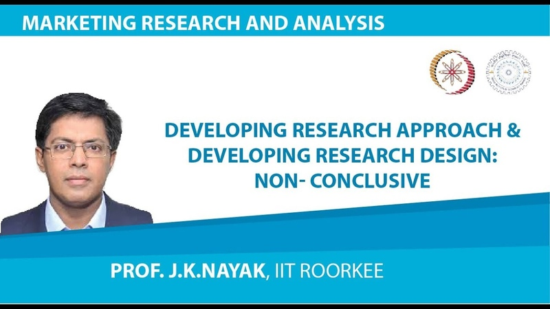 Developing Research Approach Developing Research Design Non Conclusive