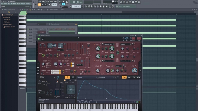 How to Make Huge Pads With Stock Plugins