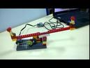 Качели из LEGO Wedo