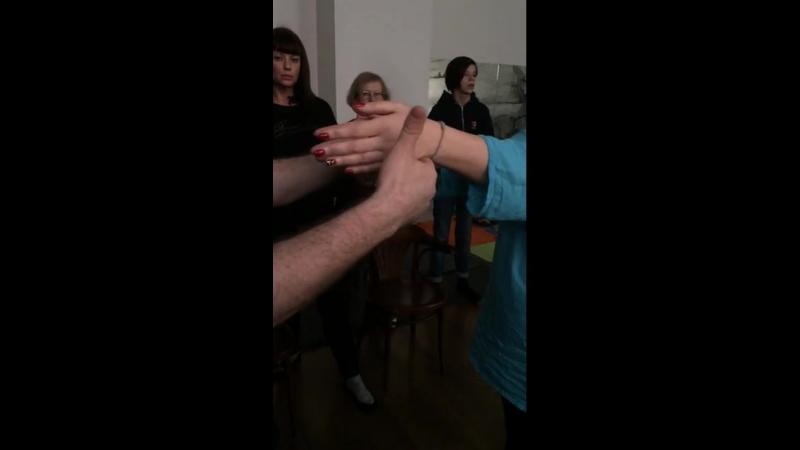 Анна Гальцева выравнивание рук