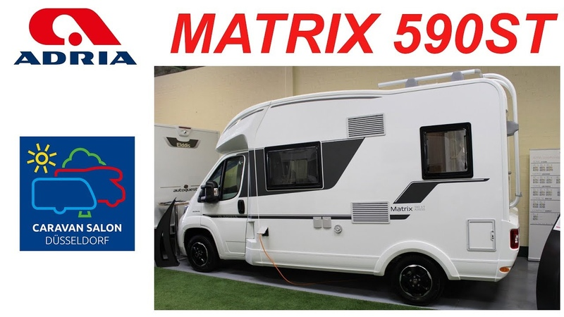 Автодом Adria Matrix Axess 590 ST. Caravan Salon Dusseldorf 2018.