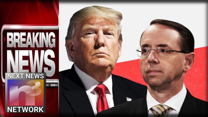BREAKING: Rosenstein is FINISHED! His Evil Plot To OVERTHROW Trump Comes To Light!