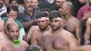 Ашура в Греции: шииты совершают подвиги До тех пор, пока кровь течет