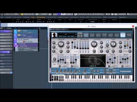 Sound Design 02 - Unison Plucks in Strobe