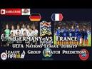 Germany vs France UEFA Nations League League A Group 1 Predictions FIFA 18