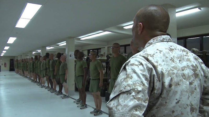 Marine Corps Boot Camp - Nighttime Routine