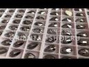 Стразы Brilliance Капля Ю.Корея цв. Jet hematite 10,518мм