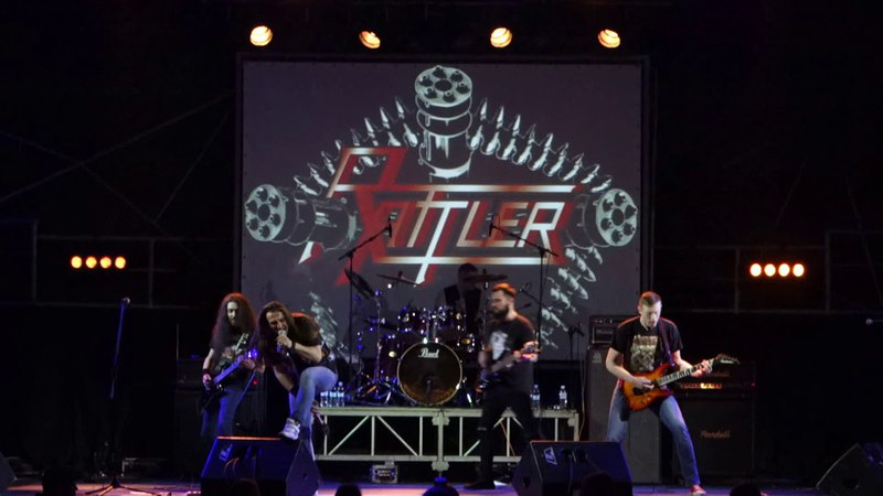 Rattler - Revolution Grinds (Live at Bingo club, Kiev, 16.03.2018)