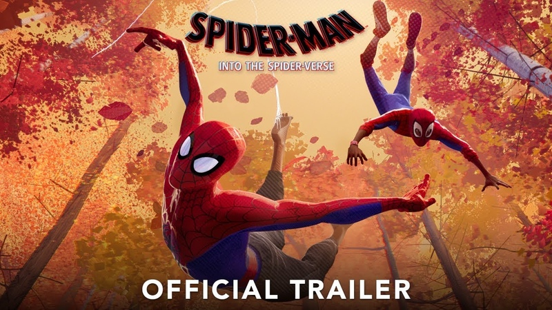 SPIDER-MAN INTO THE SPIDER-VERSE - Official Trailer (HD)